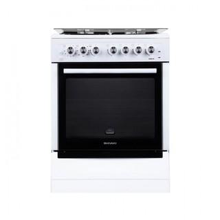 Комбинированные плита Shivaki 6302 КП White
