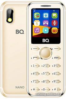 Мобильный телефон BQ-Mobile BQ-1411 Nano (золотистый) (59515)
