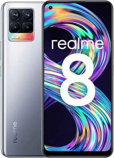 realme 8 6/128GB Серебристый