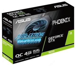Видеокарта ASUS Phoenix GeForce GTX 1650 OC 4GB (PH-GTX1650-O4GD6-P)