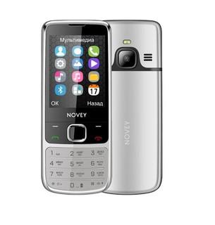 Телефон Novey N670 Silver