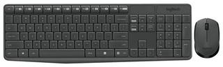 Клавиатура и мышь Logitech MK235 USB