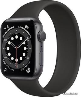 Умные часы Apple Watch Series 6 44 мм (алюминий серый космос/черный) (57149)