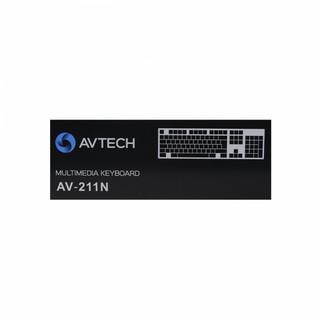 Клавиатура AVTECH AV-211N USB