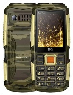 Мобильный Телефон BQ 2430 Tank Power Camouflage+Gold
