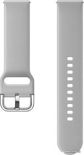 Ремешок Samsung Sport Galaxy Watch Active Strap (серый) (66789)