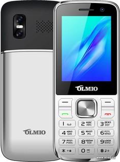 Мобильный телефон Olmio M22 (серебристый) (53694)