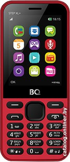 BQ-Mobile Step XL+ (красный) [BQ-2831]