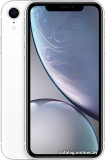 Смартфон Apple iPhone XR 64GB (белый) (57794)