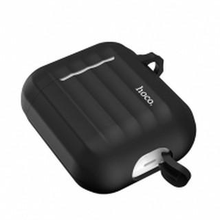 Силиконовый чехол Hoco Silicone Case WB 10 для Apple Airpods 1/2, серый