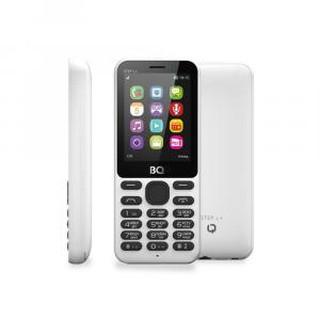 Кнопочный телефон BQ 2431 Step L+ White