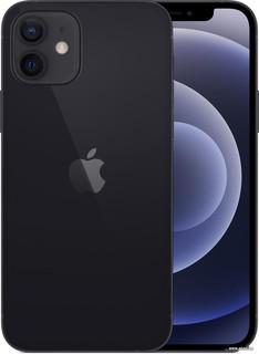 Смартфон Apple iPhone 12 256GB (черный) (56581)