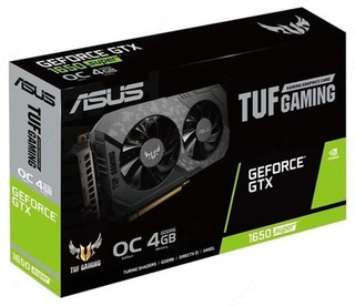 Видеокарта ASUS TUF Gaming GeForce GTX 1650 SUPER OC 4GB