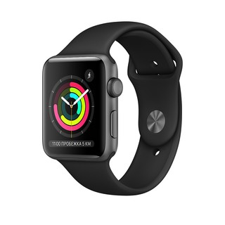 Apple watch 3 series 38mm Space Gray