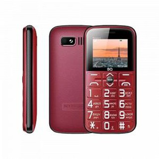 Кнопочный телефон BQ 1851 Respect Red