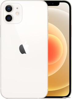 Смартфон Apple iPhone 12 256GB (белый) (56577)