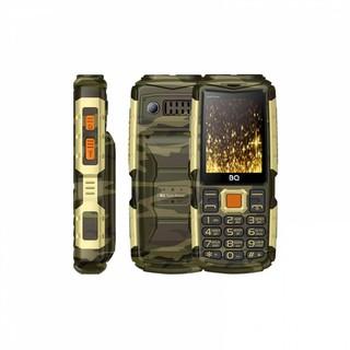 Кнопочный Телефон BQ 2430 Tank Power Золотой