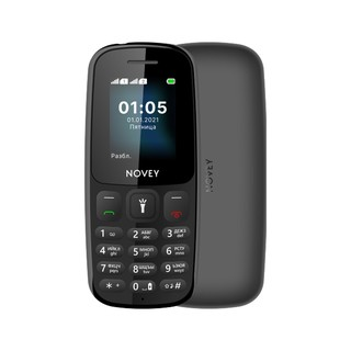Телефон Novey 107 Black