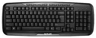Клавиатура Delux K6200U Black USB