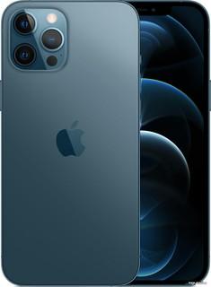 Смартфон Apple iPhone 12 Pro Max 256GB (тихоокеанский синий) (57011)