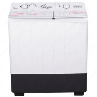 Полуавтоматическая стиральная машина Shivaki TG 80 P, 8кг Белый/Розовый