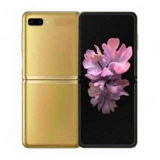 Смартфон Samsung Galaxy Z Flip (Gold)