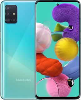 Смартфон Samsung Galaxy A51 SM-A515F/DS 6GB/128GB (голубой) (62104)