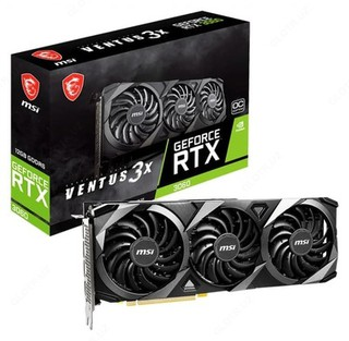 Видеокарта MSI GeForce RTX 3060 VENTUS 3X 12G OC