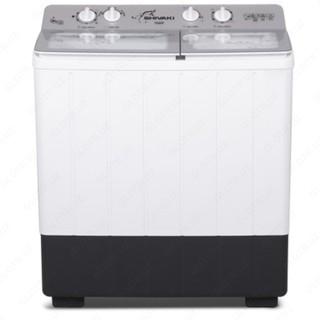Полуавтоматическая стиральная машина Shivaki TG 80 P, 8кг Серебристый