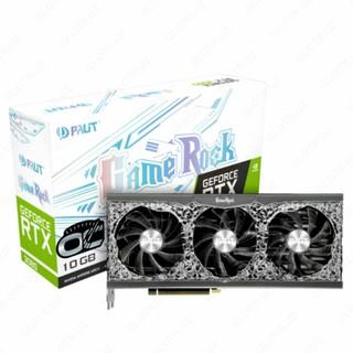Видеокарта Palit - 10GB GeForce RTX3080 GAMEROCK GDDR6 320bit 3-DP HDMI (mining version)