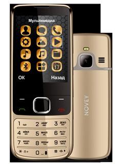Телефон Novey N670 Gold