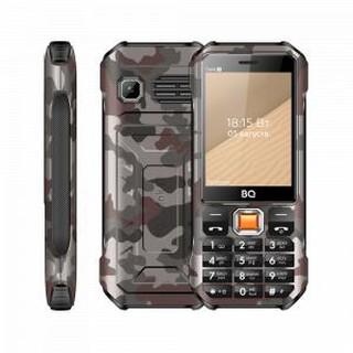 Кнопочный телефон BQ 2824 Tank T Camouflage Gray