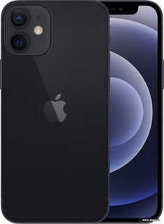 Смартфон Apple iPhone 12 mini 256GB (черный) (59182)