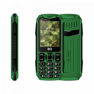 Кнопочный телефон BQ 2428 Tank Green