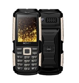 Телефон Novey T300 Tank Black-gold