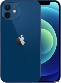 Смартфон Apple iPhone 12 128GB (синий) (56573)
