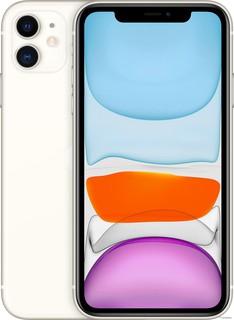 Смартфон Apple iPhone 11 128GB (белый) (57842)