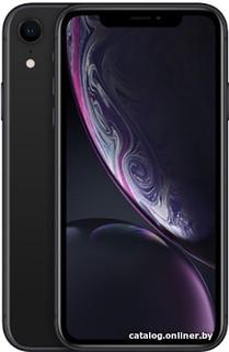 Смартфон Apple iPhone XR 128GB (черный) (59630)