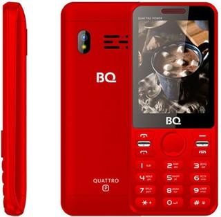 Мобильный телефон BQ 2812 Quattro Power Red