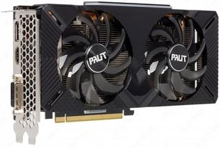 Видеокарта Palit GP (Dual Cooler) OVERCLOCKED GTX1660SUPER 192 bit DDR6