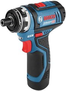Аккумуляторная дрель-шуруповёрт Bosch GSR 12V-15 FC Professional 06019F6000 с 2-мя АКБ, кейс