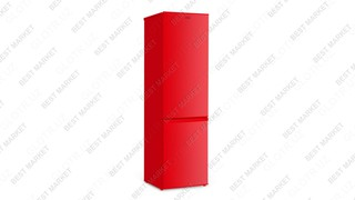 Холодильник ARTEL HD 345RN, красный