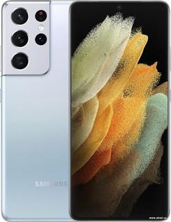 Смартфон Samsung Galaxy S21 Ultra 5G 12GB/256GB (серебряный фантом) (61829)