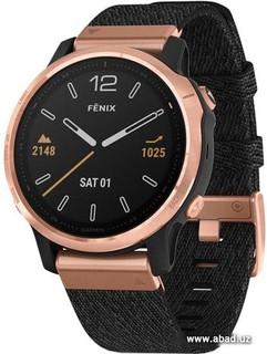Умные часы Garmin Fenix 6s Sapphire (розовое золото/черный) (50732)