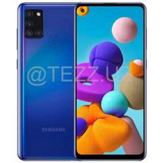 Смартфоны Samsung A21S (A217) 32GB Blue