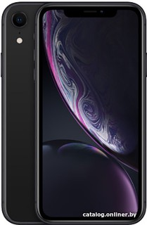 Смартфон Apple iPhone XR 64GB (черный) (56702)