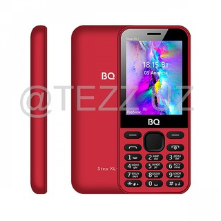 Телефоны BQ 2831 Step XL+ Red