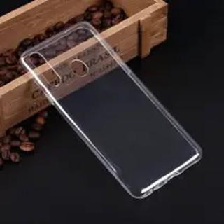 Чехол силиконовый для Samsung Galaxy A20s, прозрачный