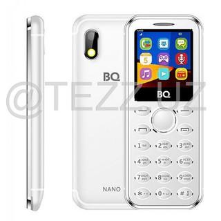 Телефоны BQ 1411 Nano Silver