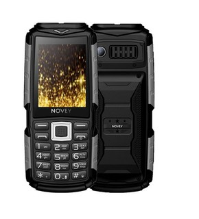 Телефон Novey T300 Tank Black-gray